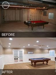 basement office remodel steve elaine s basement before after pictures basements house