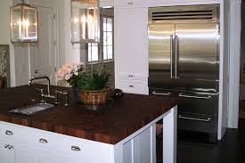 sapele mahogany butcher block countertop in edgewater md