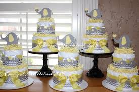 Baby Shower Decorations Yellow Yellow And Gray Elephant Baby Shower Decorations Zone Romande