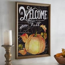 thanksgiving chalkboard art welcome fall wall decor pier 1 imports