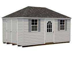 Hip Roof Images by Vinyl Siding Hip Roof Style Sheds Sheds By Siding