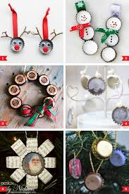 diy bottle cap ornaments chickabug