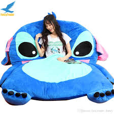 Kid Sofa Bed by Discount Fancytrader Giant Stuffed Cartoon Stitch Sofa Bed Beanbag