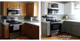 Kitchen Design Oak Cabinets by From Oak To Awesome Painted Gray And White Kitchen Cabinets Hometalk