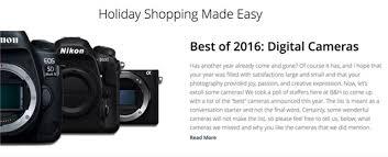 best 2016 black friday camera deals get black friday deals at b u0026h photo