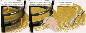 refaire l assise d une chaise refaire le cannage d une chaise décoration