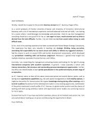 Consulting Job Cover Letter Cover Letter For Management Consulting Good Cover Letter Example