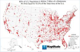 Ar Map Maptitude Map Walgreens Market Saturation