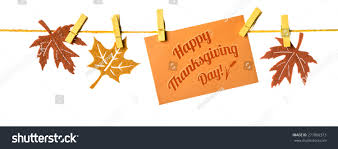 happy thanksgiving autumn border paper card stock photo 277066373