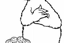 elmo cookie monster coloring pages print coloring pages