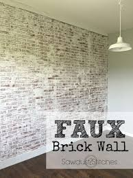 best 25 faux brick wall panels ideas on pinterest faux brick