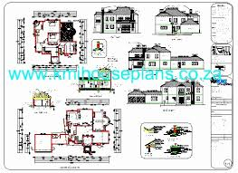 home design free pdf awesome 4 bedroom house plans pdf in south africa house plan