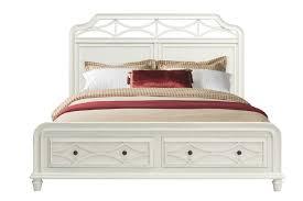 White Frame Beds Beds Mor Furniture For Less