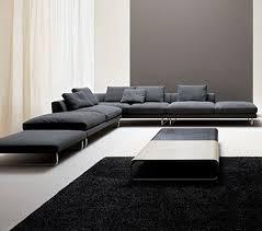 Black Microfiber Sectional Sofa Fabric Sectional Sofas Sofas Sofa Photos Black Microfiber