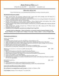 Financial Analyst Resume Template 9 Financial Analyst Resume Examples Financial Statement Form