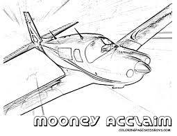 printable coloring pages kids flying plane printable clip