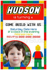 Invitation Card 7th Birthday Boy 14 Best Lego Images On Pinterest Lego Parties Lego Birthday