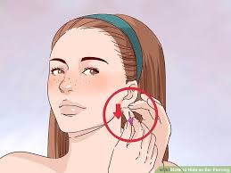 invisible earrings for school how to hide an ear piercing 12 steps with pictures wikihow