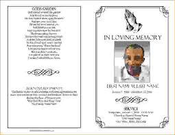 memorial service programs templates free 8 funeral templatesagenda template sle agenda template sle
