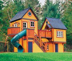 Backyard Playhouse Plans by 418 Best Playground Images On Pinterest Home Treehouse Ideas