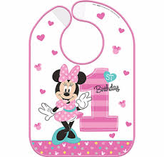 1st birthday bib disney baby minnie mouse 1st birthday bib baby girl birthday