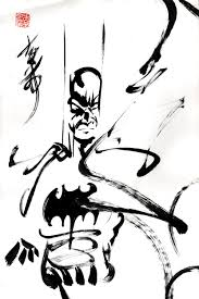 batman ink brush sketch comic art art music and other cool