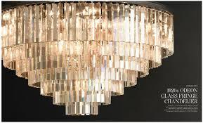 chandelier desecration hardware 4 1920s odeon glass fringe chandelier