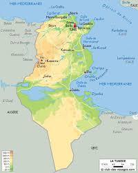 tunisia on africa map tunisia schools map map of tunisia schools northern africa