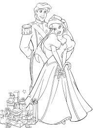 Princesse Ariel Disney  AZ Coloriage  Dessins à imprimer