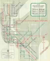 Map Ny 1958 Subway Map Ny Subway Pinterest Subway Map And Public