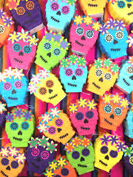 day of the dead decorations sugar skull pinata party favor day of the dead cinco de