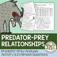 predator prey relationship analysis ecology students and