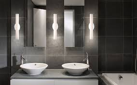 Modern Bathroom Vanity Lights Artistic Led Bath And Vanity Lights Modern Bathroom