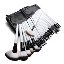 professional makeup brush set 32 pieces white u2013 best beauty buys