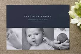 birth announcements high style baby birth announcements invitation crush