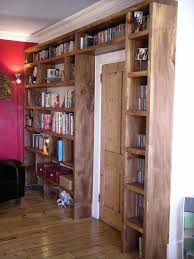 english elm bookcase bespoke made by peter henderson furniture