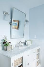 Pottery Barn Mirrored Vanity Pottery Barn Bathroom Vanity Bathroom Traditional With Center