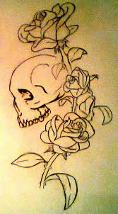 skull roses design by hausofch on deviantart