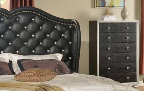 unique tufted headboard with crystals 66 in king headboard with