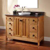 Unfinished Vanity Bathroom Ideas Unfinished Wood Vanity Cabinet With Five Drawer