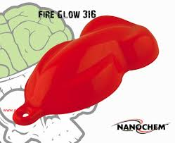 fire glow red orange paint nanochem bright color hydrographics big