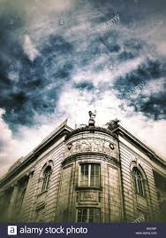 House Architectural Old Picture House Architectural Details Stock Photo Royalty Free