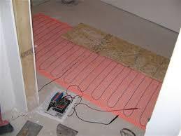 aggroup inc malone heated suntouch floor installation