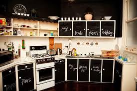tableau noir cuisine 77 idées créatives pour faire un tableau noir en peinture
