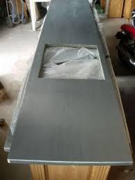 plan de travail cuisine en zinc plan de cuisine en zinc plan de travail zinc cuisine