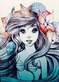 artistic ariel mermaids mermen ariel mermaid