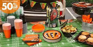 Cincinnati Bengals Halloween Costume Nfl Cincinnati Bengals Party Supplies Party