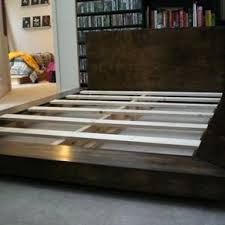 Oak Platform Bed Custom White Oak Platform Bed By Bungalow White Oak Furniture