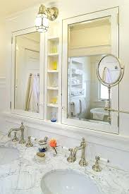 beveled glass medicine cabinet recessed beveled medicine cabinet recessed h recessed or surface mount view