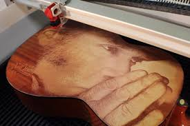 wood engraving wood engraving laser engraved guitar 8 steps with pictures